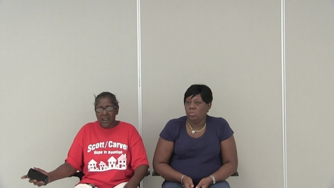 Thumbnail for entry Interview with Yvonne Stratford and Trenise Bryant