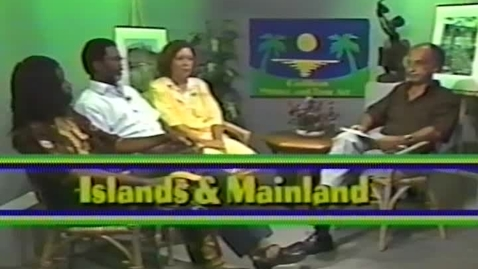 Thumbnail for entry Caribbean Writers and Their Art: Islands & Mainland (1991)