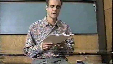 Thumbnail for entry Readings by Robert Antoni and Adrian Castro (1996)