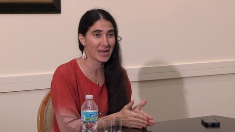 Thumbnail for entry A conversation with Cuban blogger Yoani Sánchez