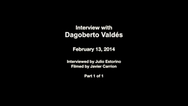 Interview with Dagoberto Valdés