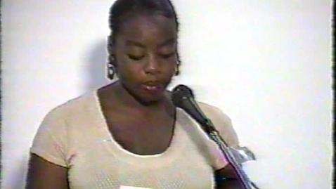 Thumbnail for entry Readings by Francesca Monplaisir, Anson Gonzalez, Ian Bethel-Bennett, Jaqueline Johnson, Obediah Smith, and Ronald Lightbourne (1996)