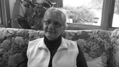 Thumbnail for entry Interview with Judy, mother of four veteran children, Navy, Army and Marines, Part 1 of 3