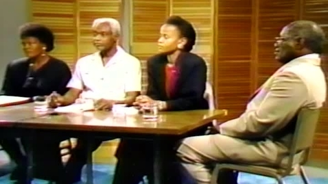 Thumbnail for entry Caribbean Writers and Their Art: Barbara Dixon, Edwidge Danticat, and Francis Farrier interviewed by Michael Anthony (1992)
