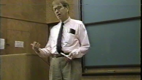 Thumbnail for entry James Maraniss talks about translation (1996)