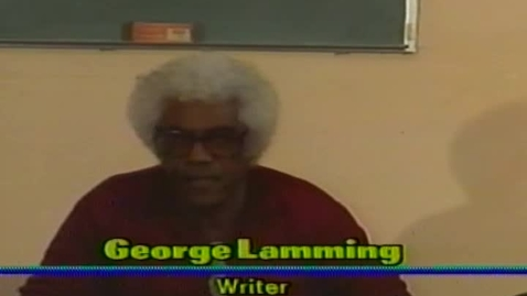 Thumbnail for entry Caribbean Writers and Their Art: Readings by George Lamming, Joan Kurzban, Kwadwo Kamau, Mickey Anderson (1991)