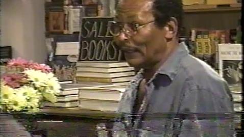 Earl Lovelace reads from Salt (1996)