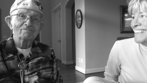 Thumbnail for entry Interview with veteran Richard Clyde Higgins, Part 1 of 8