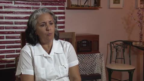 Thumbnail for entry Interview with Alejandrina García de la Riva