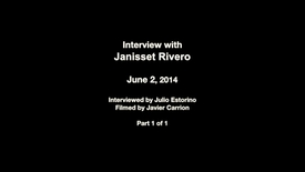 Interview with Janisset Rivero