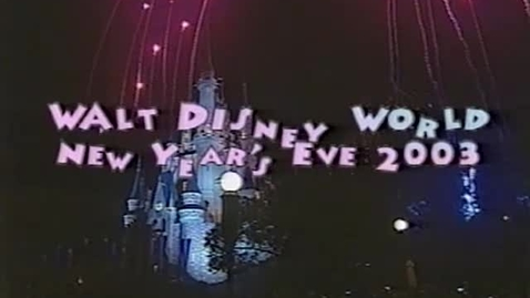 Thumbnail for entry Walt Disney New Years Eve