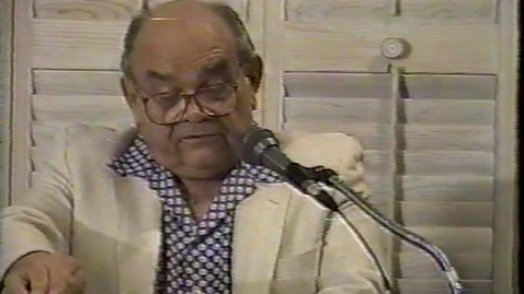 "Thumbnail for entry Antonio Benitez Rojo reads ""Translating the Caribbean Rhythm"" (1996)"
