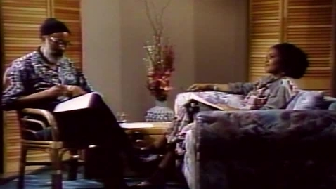 Thumbnail for entry Caribbean Writers and Their Art: Lorna Goodison interviewed by Kamau Brathwaite (1992)