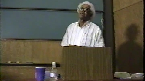 Thumbnail for entry George Lamming reads from Natives of My Person (1996)