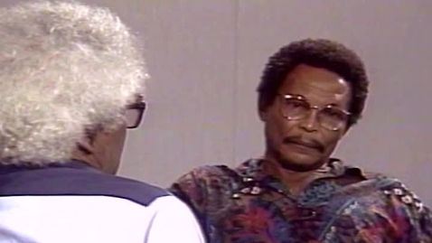 Thumbnail for entry Caribbean Writers and Their Art: Earl Lovelace interviewed by George Lamming (1992)