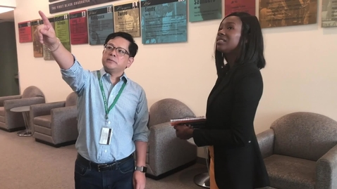 Thumbnail for entry University Archives' Staff Interviewed by UMTV, Fall 2018