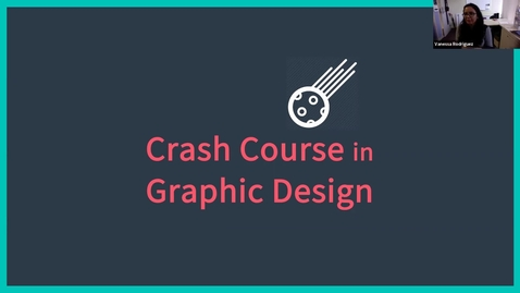 Thumbnail for entry Crash Course in Graphic Design (Creative Studio presents...)