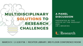 Thumbnail for entry Multidisciplinary Solutions to Research Challenges