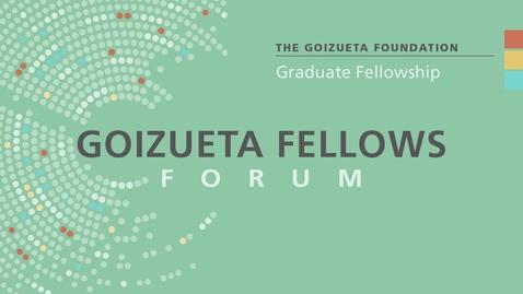 Thumbnail for entry Shadow Cadavers / Cuban Writers and Diasporic Griots (Goizueta Fellows Forum)