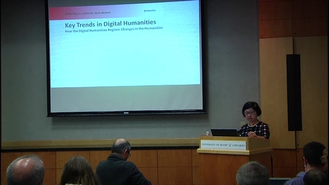 Alan Liu - Digital Humanities Lecture Series