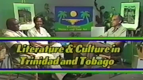 Thumbnail for entry Caribbean Writers and Their Art: Literature & Culture in Trinidad and Tobago (1991)