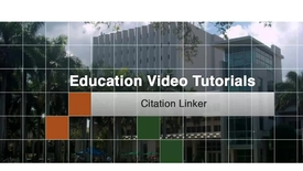 Education 4 - Citation Linker