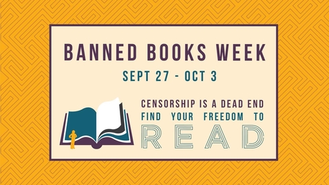 Thumbnail for entry Banned Books Week 2020