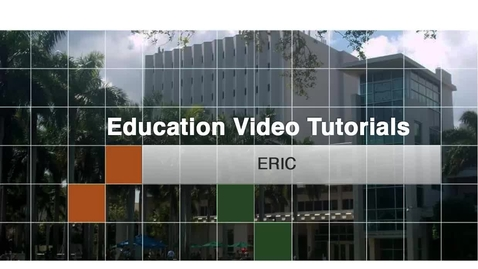 Thumbnail for entry Education 5 - ERIC
