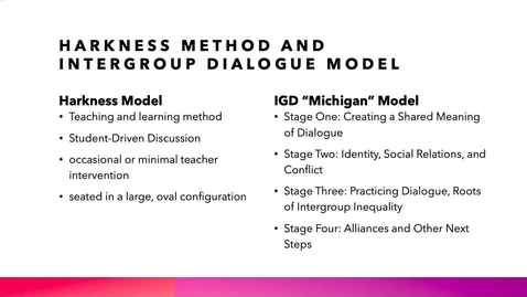 Thumbnail for entry Teaching Harkness Dialogue Course Online (2020 Faculty Showcase)