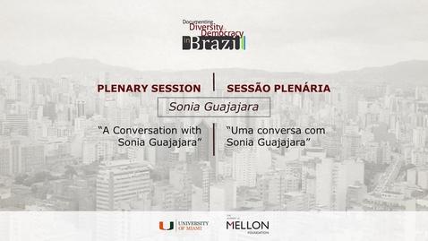 Thumbnail for entry Sonia Guajajara Sessão Plenária / Plenary Session + Sessão de Encerramento / Closing Remarks