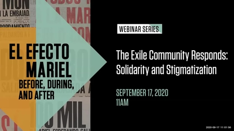 Thumbnail for entry The Exile Community Responds: Solidarity and Stigmatization