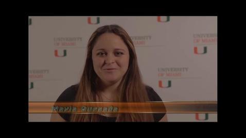 Thumbnail for entry Commencement 2013 - Student Shoutouts - Arts & Sciences and RSMAS Undergraduate Degrees