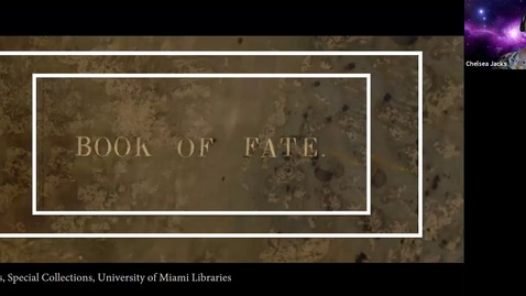 Thumbnail for entry Book of Fate: A Mysterious Manuscript for Interpreting Enigmas (Deep Dives into Special Collections)