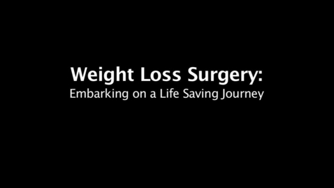 Thumbnail for entry Not just losing weight, but regaining life