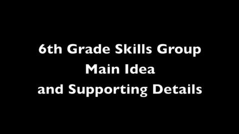 6th Grade Skills, Smoke Jumper