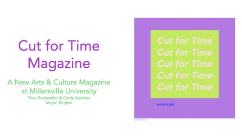 Thumbnail for entry Cindy Sanchez & Thea Buckwalter Cut for Time Magazine