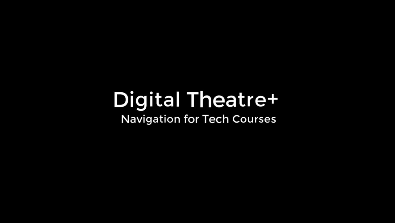 Digital Theatre+:  Navigating to Practice & Practitioners Content