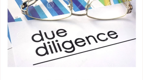 Thumbnail for entry Due Diligence in Writing