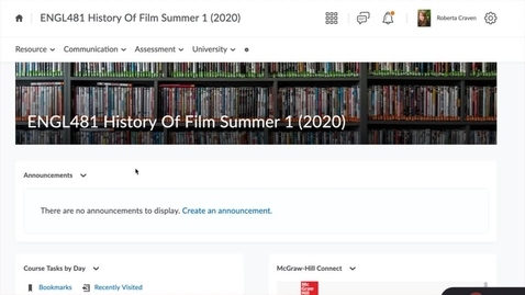 Thumbnail for entry History of Film CONTENT Overview