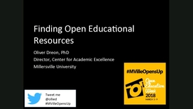 Thumbnail for entry MU Opens Up: Finding Open Educational Resources
