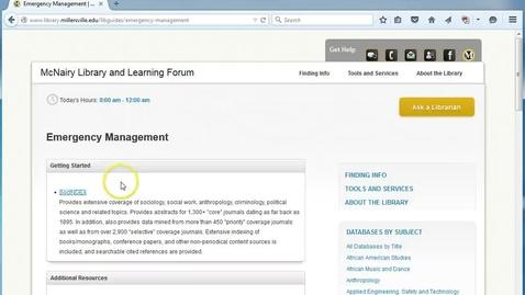 Thumbnail for entry SocIndex Video
