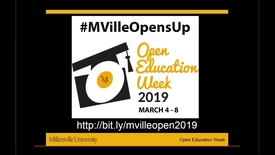 Thumbnail for entry Student Advocacy For OER - #MVilleOpensUp - 3_7_Morning Session