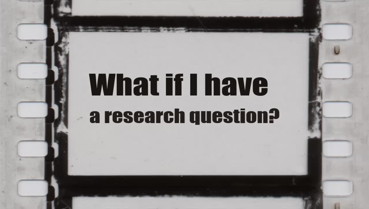 What if I have a question about locating relevant resources for my research papers?
