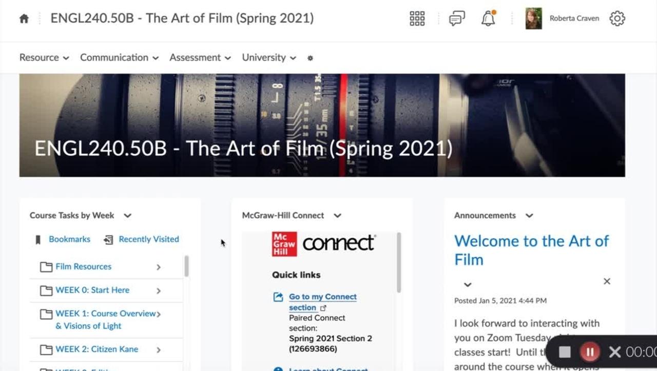 Art of Film Overview