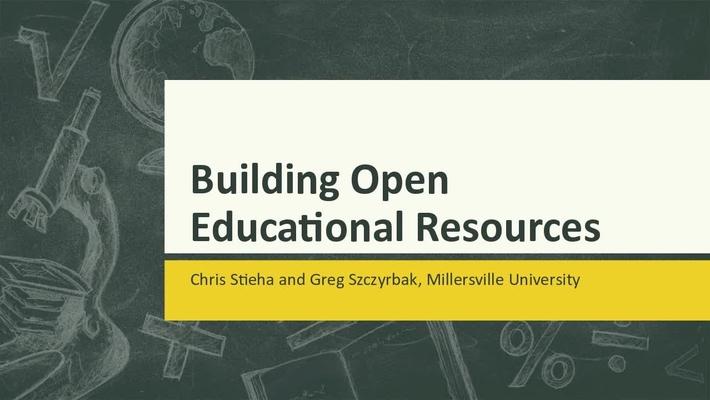 MU Opens Up: Building OERs