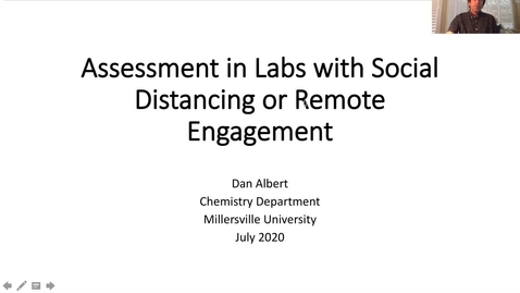 Thumbnail for entry Transitioning Labs and Other Hands-On Coursework in a Social Distancing or Remote Learning Environment