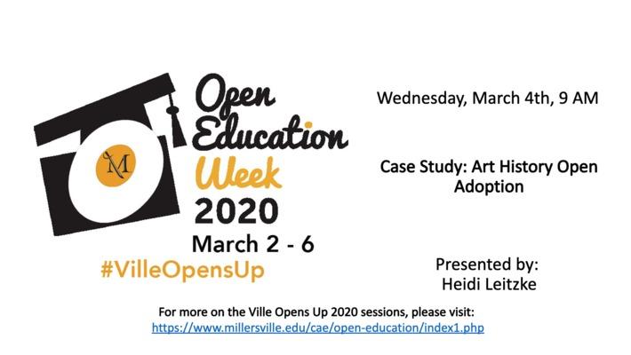 Case Study: Art History Open Adoption - #VilleOpensUp 2020 3_4_Morning Session