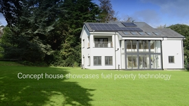 Concept house showcases fuel poverty