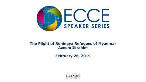 Thumbnail for entry The Plight of Rohingya Refugees of Myanmar - Azeem Ibrahim