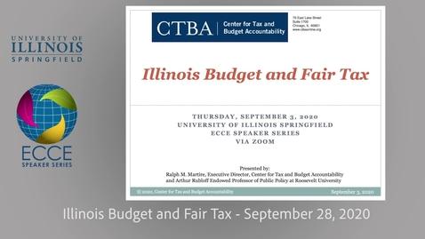 Thumbnail for entry Illinois Fair Tax Amendment - Ralph Martire